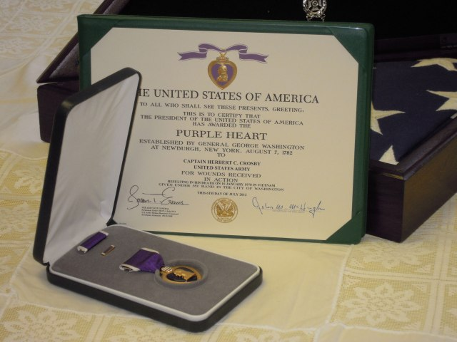 crosby purple heart