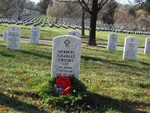 crosby grave