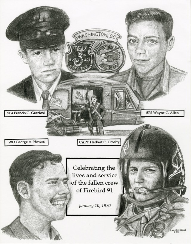 firebird nine one crew pencil drawing